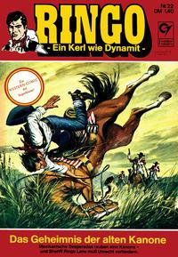Cover Thumbnail for Ringo (Condor, 1972 series) #22