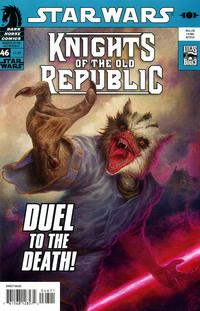 Cover Thumbnail for Star Wars Knights of the Old Republic (Dark Horse, 2006 series) #46