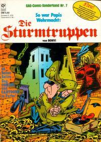 Cover Thumbnail for Die Sturmtruppen (Condor, 1978 series) #7
