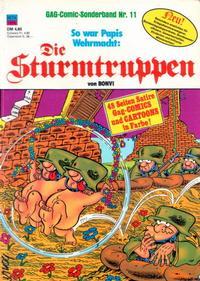 Cover Thumbnail for Die Sturmtruppen (Condor, 1978 series) #11