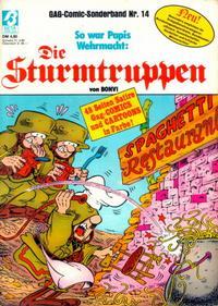 Cover Thumbnail for Die Sturmtruppen (Condor, 1978 series) #14