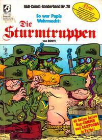 Cover Thumbnail for Die Sturmtruppen (Condor, 1978 series) #20