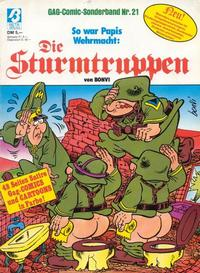Cover Thumbnail for Die Sturmtruppen (Condor, 1978 series) #21