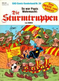 Cover Thumbnail for Die Sturmtruppen (Condor, 1978 series) #34