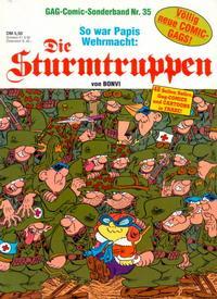 Cover Thumbnail for Die Sturmtruppen (Condor, 1978 series) #35