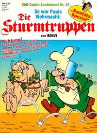 Cover Thumbnail for Die Sturmtruppen (Condor, 1978 series) #43