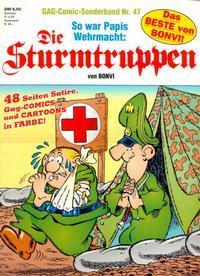 Cover Thumbnail for Die Sturmtruppen (Condor, 1978 series) #47