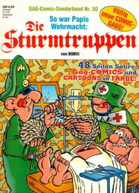Cover Thumbnail for Die Sturmtruppen (Condor, 1978 series) #50