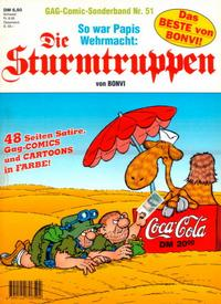 Cover Thumbnail for Die Sturmtruppen (Condor, 1978 series) #51