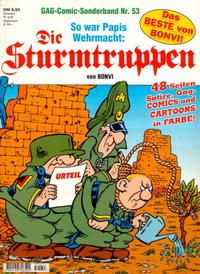 Cover Thumbnail for Die Sturmtruppen (Condor, 1978 series) #53