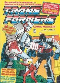 Cover Thumbnail for Transformers (Condor, 1989 series) #1