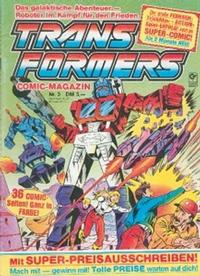 Cover Thumbnail for Transformers (Condor, 1989 series) #3