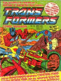Cover Thumbnail for Transformers (Condor, 1989 series) #12
