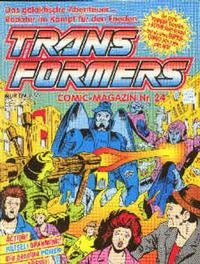 Cover Thumbnail for Transformers (Condor, 1989 series) #24
