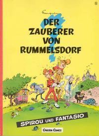 Cover Thumbnail for Spirou und Fantasio (Carlsen Comics [DE], 1981 series) #1 - Der Zauberer von Rummelsdorf