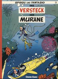 Cover Thumbnail for Spirou und Fantasio (Carlsen Comics [DE], 1981 series) #7 - Das Versteck der Muräne