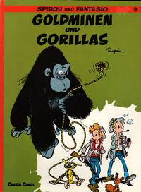 Cover Thumbnail for Spirou und Fantasio (Carlsen Comics [DE], 1981 series) #9 - Goldminen und Gorillas