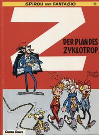 Cover Thumbnail for Spirou und Fantasio (Carlsen Comics [DE], 1981 series) #13 - Der Plan des Zyklotrop