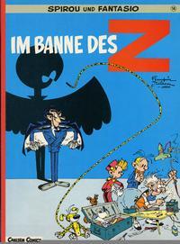 Cover Thumbnail for Spirou und Fantasio (Carlsen Comics [DE], 1981 series) #14 - Im Banne des Z