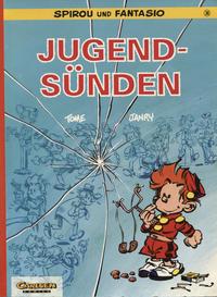 Cover Thumbnail for Spirou und Fantasio (Carlsen Comics [DE], 1981 series) #36 - Jugendsünden
