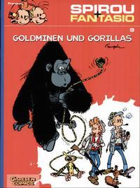 Cover Thumbnail for Spirou + Fantasio (Carlsen Comics [DE], 2003 series) #9 - Goldminen und Gorillas