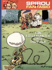 Cover Thumbnail for Spirou + Fantasio (Carlsen Comics [DE], 2003 series) #11 - Ein eisgekühlter Gast taut auf