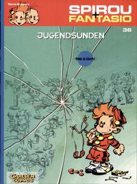 Cover Thumbnail for Spirou + Fantasio (Carlsen Comics [DE], 2003 series) #36 - Jugendsünden