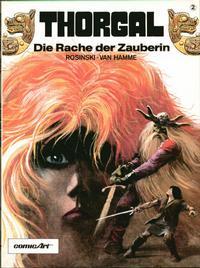 Cover Thumbnail for Thorgal (Carlsen Comics [DE], 1987 series) #2 - Die Rache der Zauberin