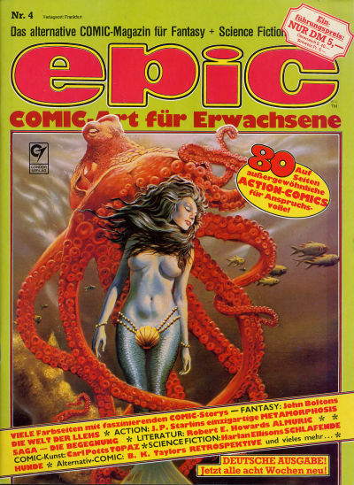 Cover for Epic (Condor, 1983 series) #4