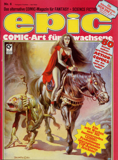 Cover for Epic (Condor, 1983 series) #6