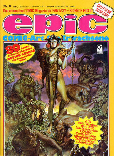 Cover for Epic (Condor, 1983 series) #8
