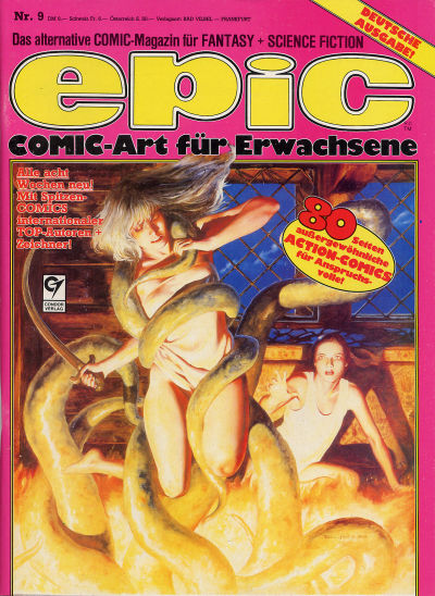 Cover for Epic (Condor, 1983 series) #9
