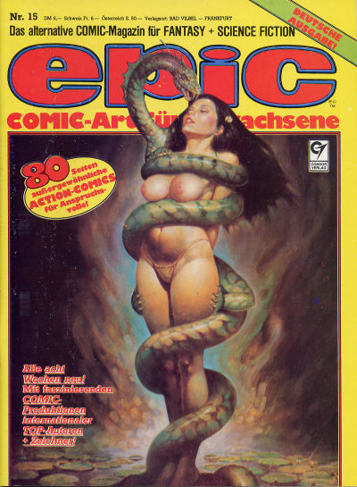 Cover for Epic (Condor, 1983 series) #15