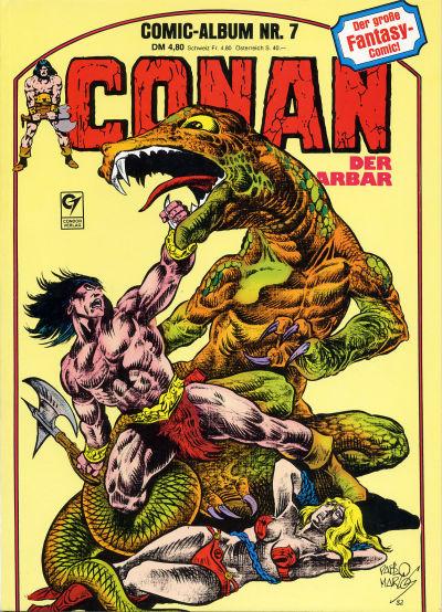 Cover for Conan der Barbar (Condor, 1982 series) #7