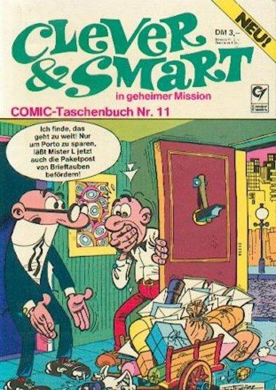 Cover for Clever & Smart (Condor, 1977 series) #11