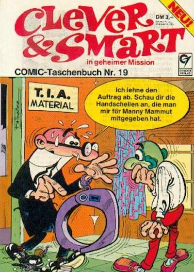 Cover for Clever & Smart (Condor, 1977 series) #19