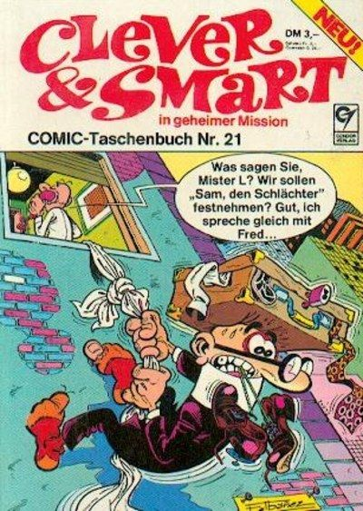 Cover for Clever & Smart (Condor, 1977 series) #21