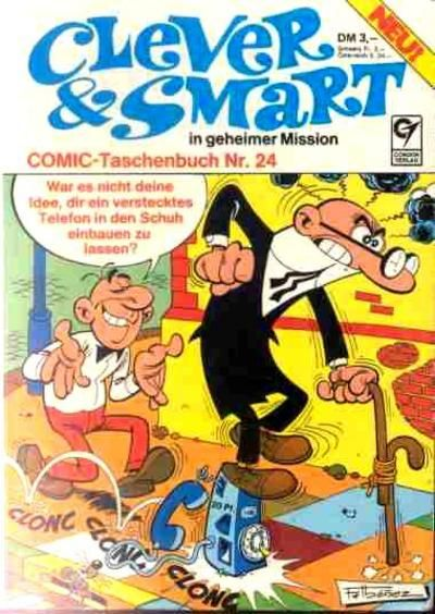 Cover for Clever & Smart (Condor, 1977 series) #24