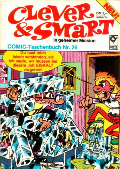 Cover for Clever & Smart (Condor, 1977 series) #26