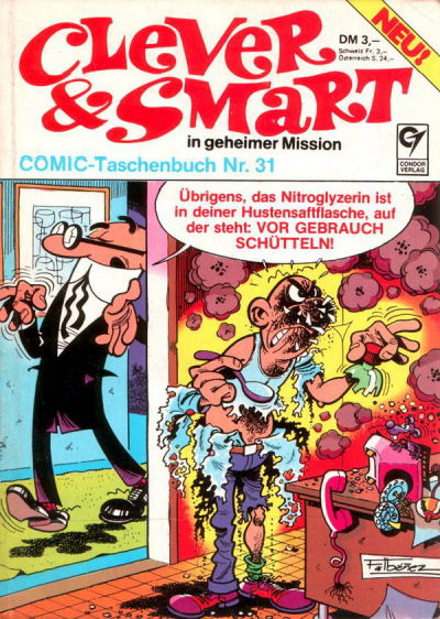 Cover for Clever & Smart (Condor, 1977 series) #31
