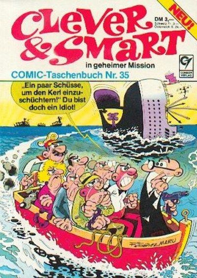 Cover for Clever & Smart (Condor, 1977 series) #35