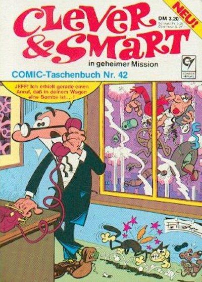 Cover for Clever & Smart (Condor, 1977 series) #42