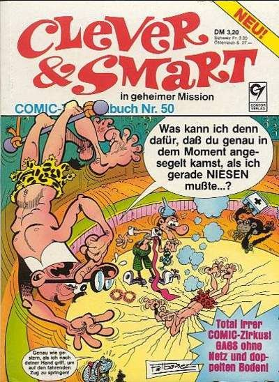 Cover for Clever & Smart (Condor, 1977 series) #50
