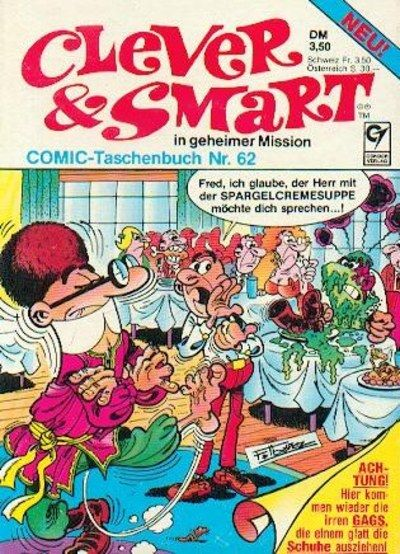 Cover for Clever & Smart (Condor, 1977 series) #62