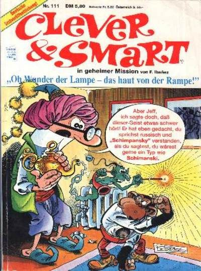 Cover for Clever & Smart (Condor, 1972 series) #111