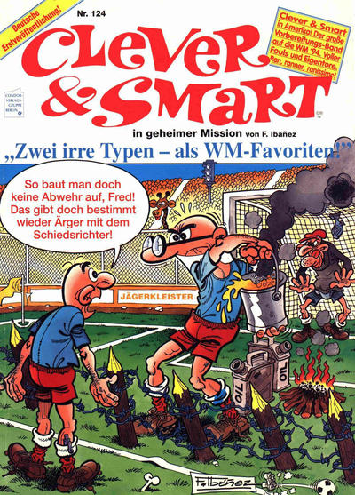 Cover for Clever & Smart (Condor, 1972 series) #124