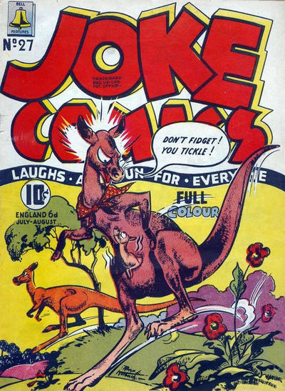 Cover for Joke Comics (Bell Features, 1942 series) #27