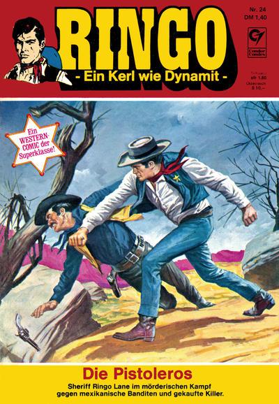 Cover for Ringo (Condor, 1972 series) #24