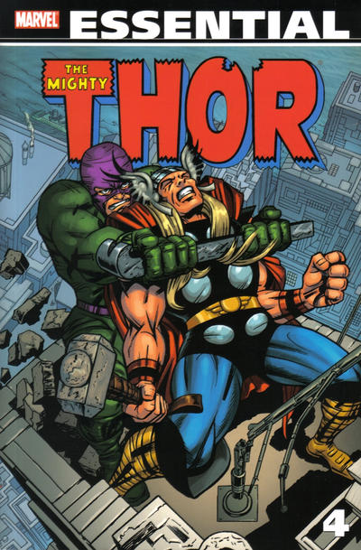 Cover for Essential Thor (Marvel, 2001 series) #4