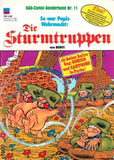 Cover for Die Sturmtruppen (Condor, 1978 series) #11
